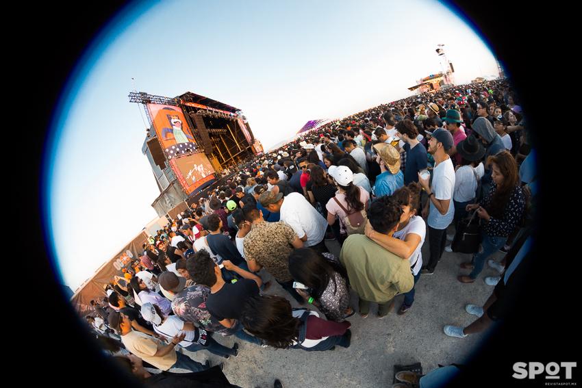 Festival Pulso GNP, primera edición en Querétaro, México el 2 de junio 2018.