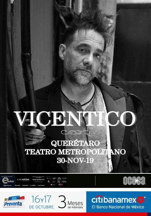 Vicentico en Querétaro 2019