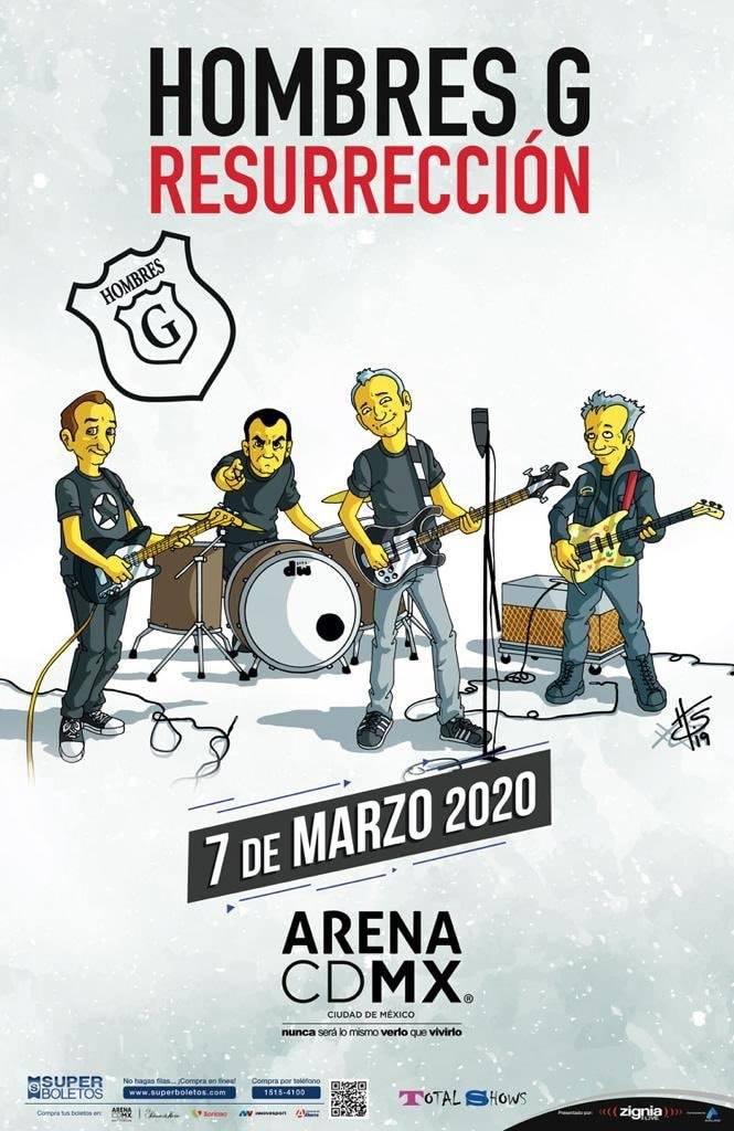 Hombres G traen su Tour Resurrección a Querétaro