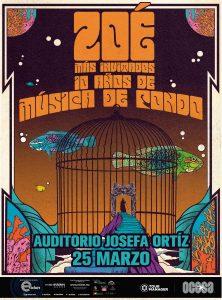 """Zoé 10 años de """"Música de fondo"""" en Querétaro"""