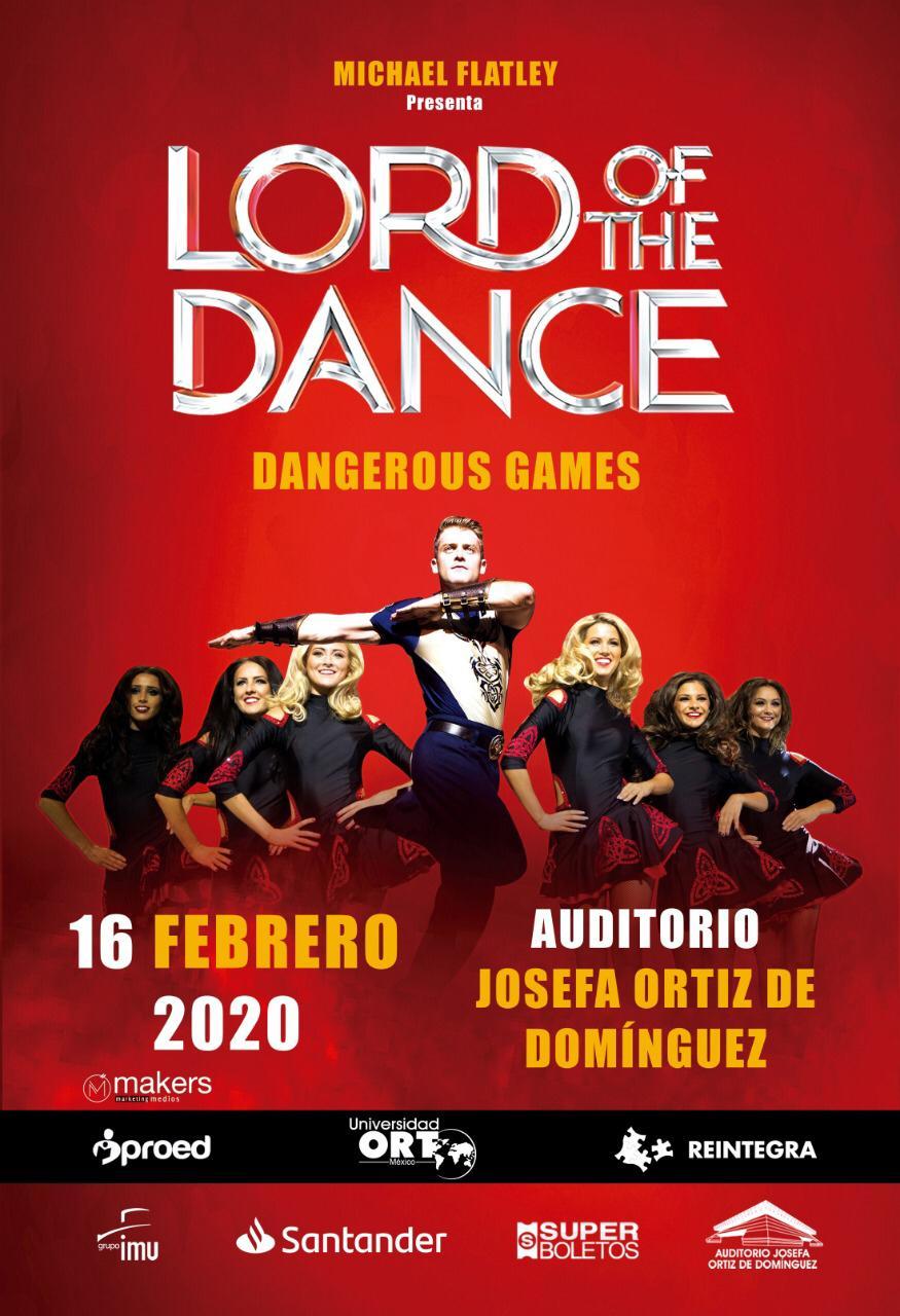 LORD OF THE DANCE EN QUERETARO