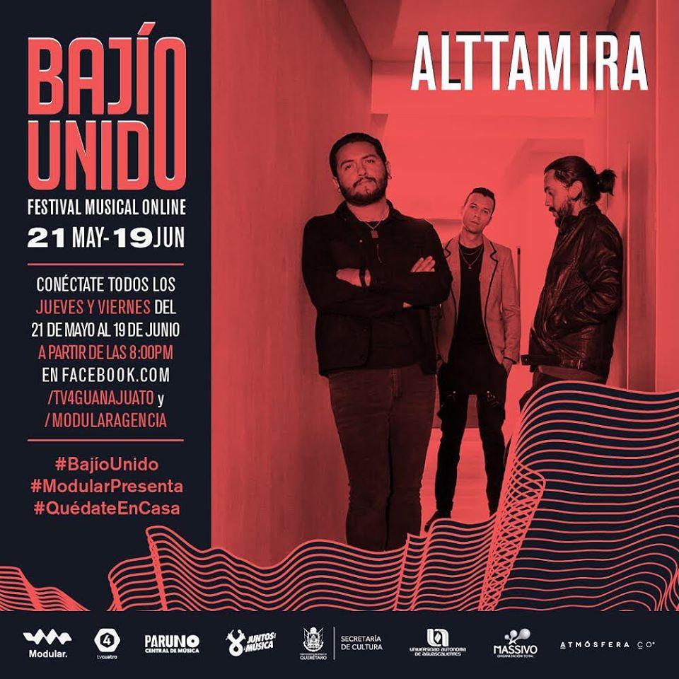 Únete al Festival Musical Online #BajíoUnido