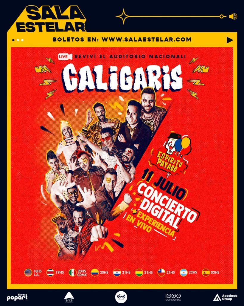 Caligaris en concierto digital