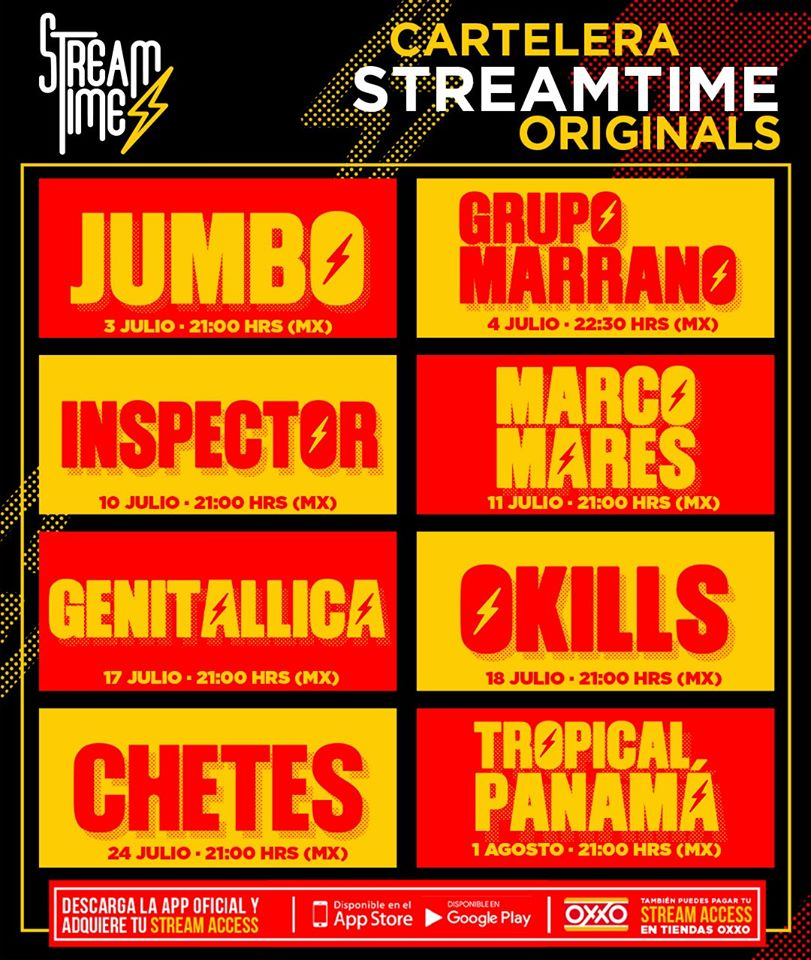 Streamtime revolucionará los shows streaming