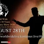 Lacrimosa festejará su 30 aniversario en concierto online